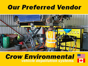 Crow Environmental Vehicle Depollution Systems | Covering North America and Canada